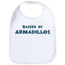 Raised by Armadillos Bib