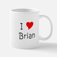 Cute I heart brian Mug