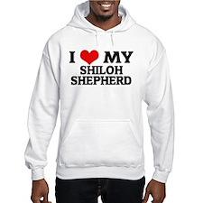 I Love My Shiloh Shepherd Hoodie