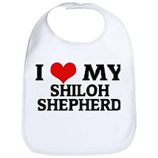 I Love My Shiloh Shepherd Bib