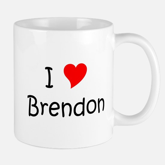 Cute I love brendon Mug