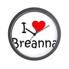 Girlsname Wall Clock