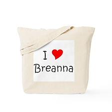 Cute Breanna Tote Bag