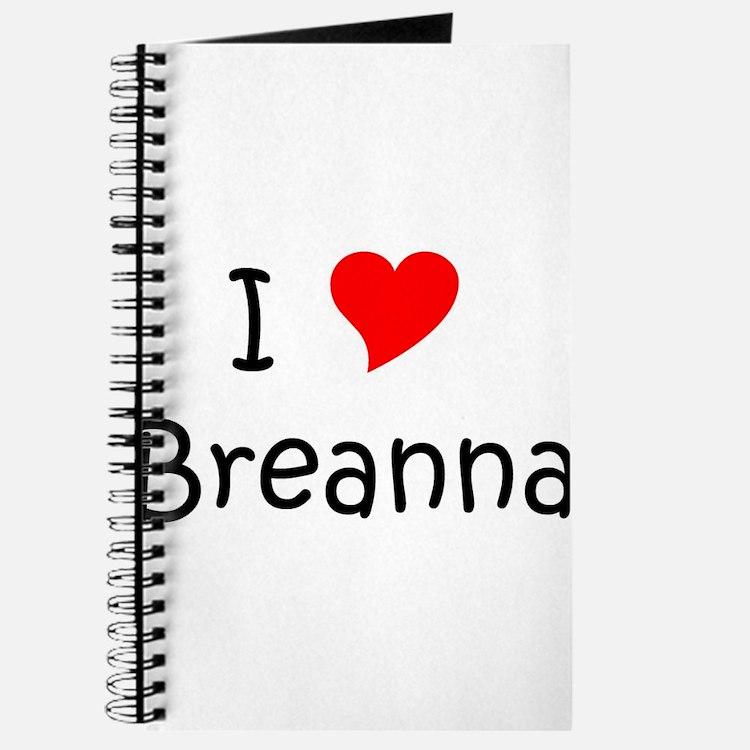 Cute Breanna Journal