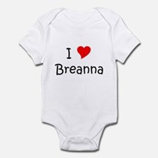 Cute Breanna Infant Bodysuit