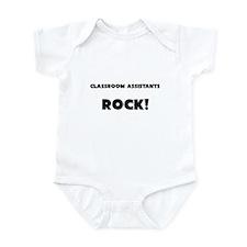 Classroom Assistants ROCK Infant Bodysuit