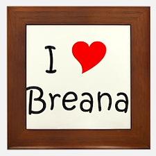 Cool Breana Framed Tile