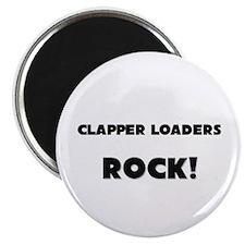 Clapper Loaders ROCK Magnet