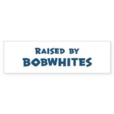 Raised by Bobwhites Bumper Bumper Sticker