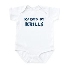 Raised by Krills Infant Bodysuit