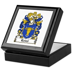 Lenzi Family Crest Keepsake Box