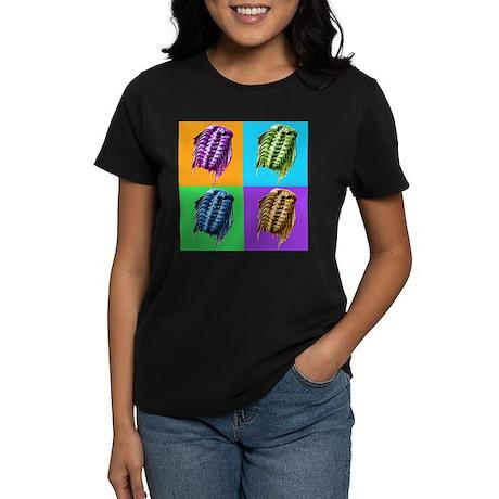 Trippy Trilobites Women's Dark T-Shirt