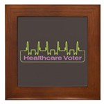 Healthcare Voter Tile (Framed)