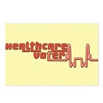 Red Healthcare Voter Postcards (8 pk)