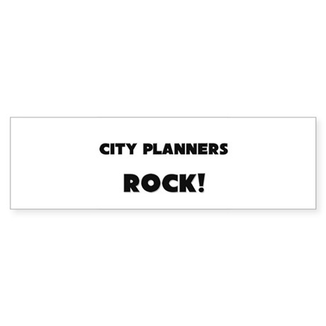 City Planners ROCK Bumper Sticker