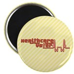Red Healthcare Voter Magnets (100 pk)