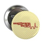 Red Healthcare Voter Buttons (10 pk)
