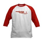 Red Healthcare Voter Kids Baseball Jersey