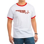 Red Healthcare Voter Ringer T Shirt