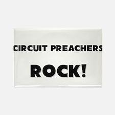 Circuit Preachers ROCK Rectangle Magnet