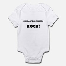 Cinematographers ROCK Infant Bodysuit
