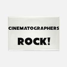 Cinematographers ROCK Rectangle Magnet