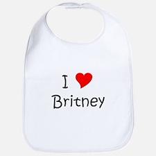 Unique Britney Bib