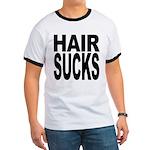 Hair Sucks Ringer T
