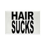 Hair Sucks Rectangle Magnet
