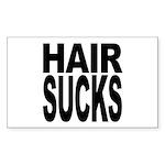 Hair Sucks Rectangle Sticker 10 pk)