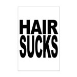 Hair Sucks Mini Poster Print