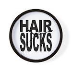 Hair Sucks Wall Clock