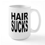 Hair Sucks Large Mug