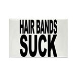 Hair Bands Suck Rectangle Magnet