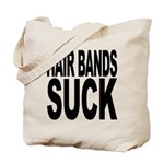 Hair Bands Suck Tote Bag