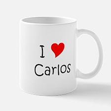 Cute I love carlos Mug