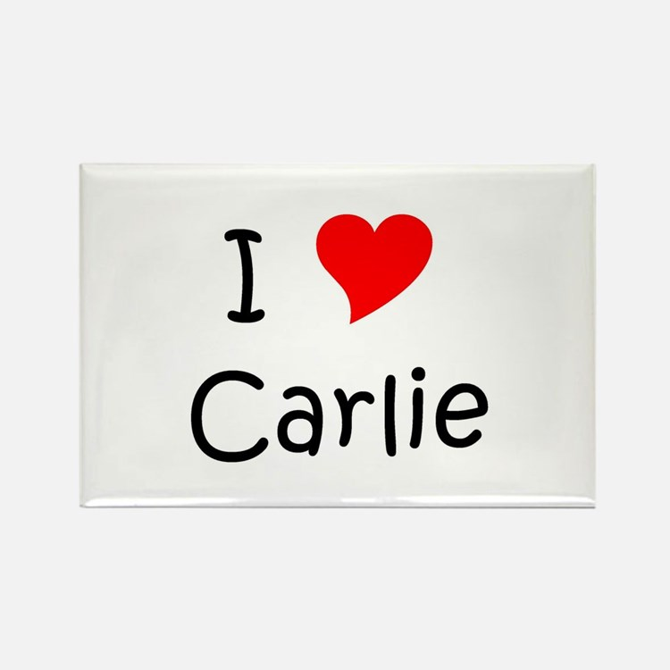 Cute Carlie Rectangle Magnet