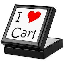 Cute Carl Keepsake Box