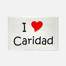 Cool Caridad Rectangle Magnet