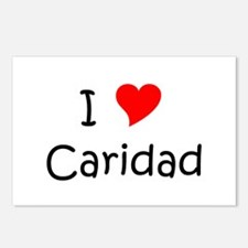 Cool Caridad Postcards (Package of 8)