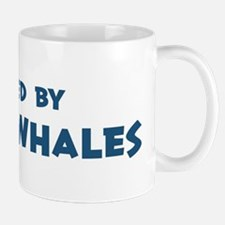 Raised by Right Whales Mug