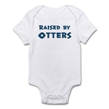 Raised by Otters Infant Bodysuit