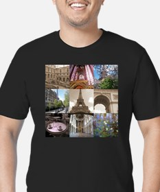 Views of Paris Ash Grey T-Shirt