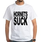 Hornets Suck White T-Shirt