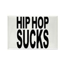 Hip Hop Sucks Rectangle Magnet