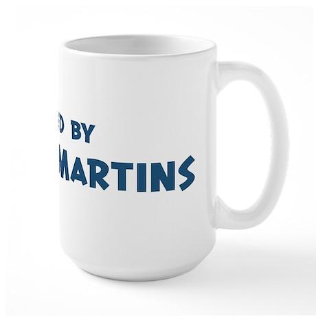 Raised by Purple Martins Large Mug