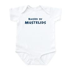 Raised by Mustelids Infant Bodysuit