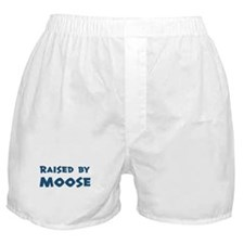 Raised by Moose Boxer Shorts