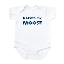 Raised by Moose Infant Bodysuit