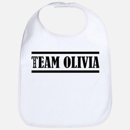 TEAM OLIVIA Baby Bib